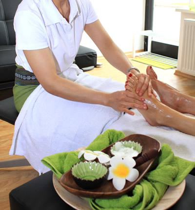 Fußmassage